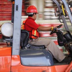 Segurança e Condução de Empilhadores