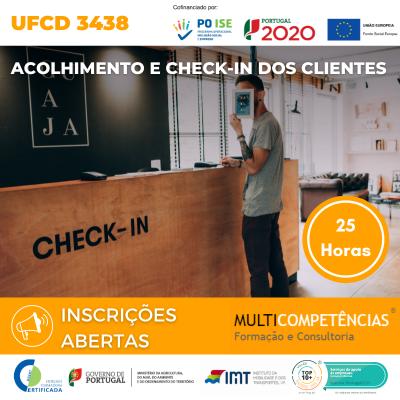 UFCD 3438 - Acolhimento e check-in dos clientes