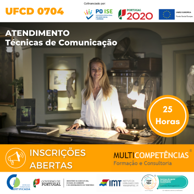 UFCD 0704 - Atendimento: Técnicas de comunicação